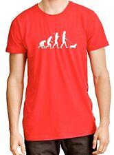 """""""Evolution de l'homme"""" PEMBROKE WELSH CORGI T-shirt"""