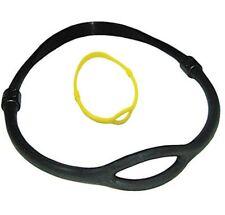 Oktopushalter Silikon groß,Neckband,Automatenhalsband, schwarz oder gelb
