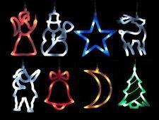 Fenster-Dekoration Deko Beleuchtung Weihnachtsbeleuchtung Silhouette Figur 8 LED