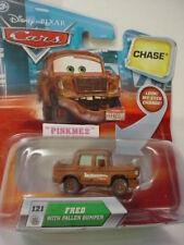 2010 PIXAR Cars Look Eyes #121✰CHASE☆FRED w/ FALLEN BUMPER