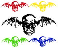 "LARGE Avenged Sevenfold Deathbat A7X Vinyl Wall Sticker Car Window Decal 25""-55"""
