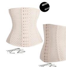 UK Breathable Waist Tummy Girdle Belt Sport Body Shaper Trainer Control Corset
