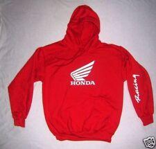 Red Hoodie Honda Racing hooded sweatshirt sizes S - 3X