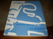 Yamaha Shop Service Repair Manual TT-R50 EV 2/05