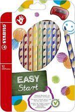 Crayons couleur Stabilo Easycolors 6 ou 12-er Cas pour Gaucher/ Droitier
