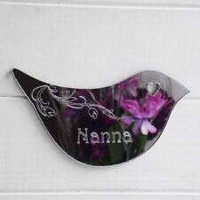 Floral Dove Acrylique Miroir porte ou mur Signe-Nana