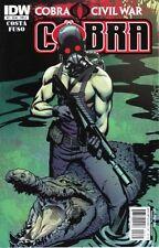 Cobra Civil War:Cobra #2-#5 Cobra Civil War:Snake Eyes #2,#4,#6 Gi Joe #3,#4,#6