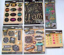 K & Company  Chalk It Now  Craft Stickers  NIP