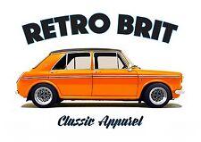 Austin Morris 1300GT T-Shirt. Retro BRIT, Classic Car, British Leyland, BMC.