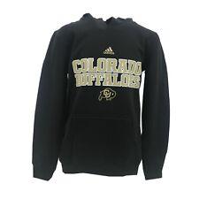 Colorado Buffaloes Official NCAA Adidas Kids Youth Size Hooded Sweatshirt New