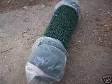 1.2 m x 1 m green chain-link mesh garden dog fencing