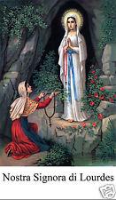SANTINO HOLY CARD NOSTRA SIGNORA DI LOURDES