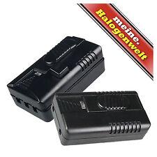 Schnurdimmer mit Schieberegler 300W Schalter 230V Helligkeits-Regler Fuß-Dimmer