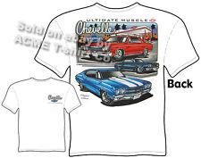 Chevelle T Shirt Chevy Shirt Muscle Car Clothing 1965 1967 1970 65 67 70 Malibu