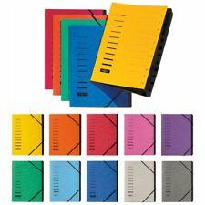 PAGNA Ordnungsmappe Fächermappe 40059 12-teilig 1-12  verschiedene Farben