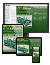Land Rover 90, 110 and Defender Diesel (1983-2007) up to 56 Haynes Online Manual