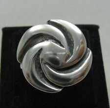 stile anello argento sterling MASSICCIO 925 NUOVO MISURA G - Z Empress r001105