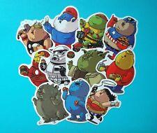 """Pegatina """"FAT HEROES"""" Comic Cartoon - 32 Motivo a elegir"""