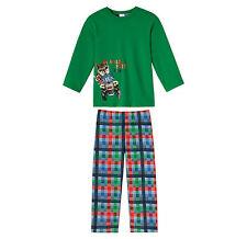 SCHIESSER Jungen Schlafanzug Pyjama lang 104 116 128 140 Nachtwäsche