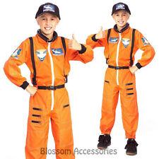CK189 Astronaut Nasa Space Kids Fancy Dress Child Boys Book Week Costume Outfit