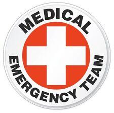 Medical Emergency Team Hard Hat Decal Hard Hat Sticker Helmet Safety Label H63