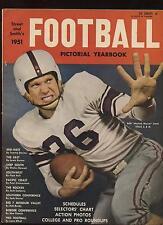 1951 Street & Smith Football Yearbook EX+