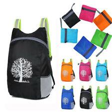 Durable Folding Packable Adjustable straps Lightweight Travel Hiking Backpack