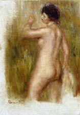 """PIERRE AUGUSTE RENOIR """"La Baigneuse. The Bather"""" CANVAS OR PAPER various SIZES"""