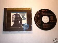 "HOWLIN' WOLF ""The Real Folk Blues"" MFSL GOLD CD"