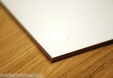 Hartfaserplatte weiss 3mm Möbelplatte Rückwand Schrank HDFPlatte Holz heimwerken