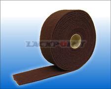 Gp = 2,39€/ M 10 Mètres Toile Abrasive non Tissée Rouge Mastic Colle