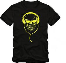 DJ T- Shirt  Discjockey Shirt  Death Metall bis 5 XL Funshirt
