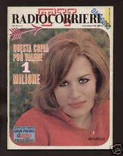 RADIOCORRIERE 8/68 SPINACI SANREMO CARLOS WARHOL LICHTENSTEIN POP ART HEIFETZ