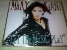 MARY KIANI - LET THE MUSIC PLAY - 1996 DANCE CD SINGLE