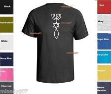 Messianic Judaism Christian Symbol T-Shirt Shirt SIZES S-5XL