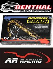Renthal 520 R3-2 Gold O Ring Drive Chain MX Enduro ATV Motocross 120 Links