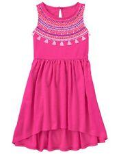 NWT Gymboree Jungle Brights Hot Pink Tassel Dress 8,10