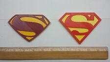 Superman 3D Logo (2 Versions) - Emblem, Magnet or Ornament !!