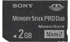 Sony 2GB Memory Stick PRO Duo Card - OEM - MSMT2G PSP Magic Gate Mark 2