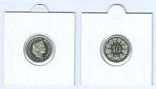 Suisse 10 Centime Pièce de Monnaie de KMS (Choisissez entre : 1974 - 2018)