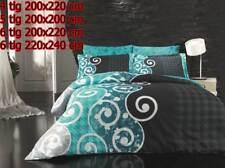 Bettwäsche Bettgarnitur Bettbezug 100% Baumwolle Kissen Decke SCARLET #04