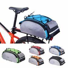 Cycling Luggage Shoulder Handbag Bike Rack Pannier Trunk Basket Back Seat Pouch