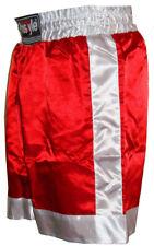 Prostyle Boxing Shorts Trunks Kick Boxing MMA Training Gym Men Red Blue Black