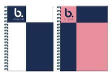 Calidad Superior A4 hardbacked Notebook Portátil de estudiante universitario de 160 páginas de la escuela