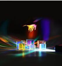 2.5cm Optical Cross Dichroic X-Cube Prism RGB Combiner Decoration Glass