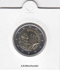 San Marino 2018 Kursmünzen (wählen Sie zwischen 1 Cent und 2 Euro) stempelglanz