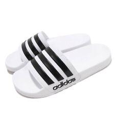 fb1d4b5ab5411a adidas Adilette Shower White Black Men Sports Sandals Slides Slippers AQ1702