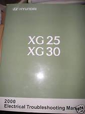 Hyundai XG XG25 XG30 2000 : Electrical troubleshooting