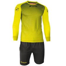 Givova Manchester Goalkeepers Shirt Shorts Football Teams Goalie Kit Strip Set