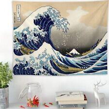 Tenaly Great Wave Kanagawa Jepan Bedroom Living Room Dorm Wall Hanging Tapestry